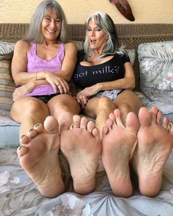 Mature grannies feet fetish sex