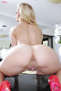 Cherie DeVille shows her big ass