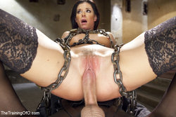 India Summers in chains
