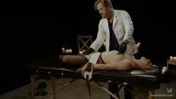 MEDICAL FETISH MOVIE – THE EXAMINATION – CLOSED CAPTIONED FOR THE HEARING IMPAIRED.