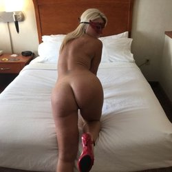 So hot blonde amateur MILF ready for sex