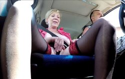 Mature prostitute fucked in the car