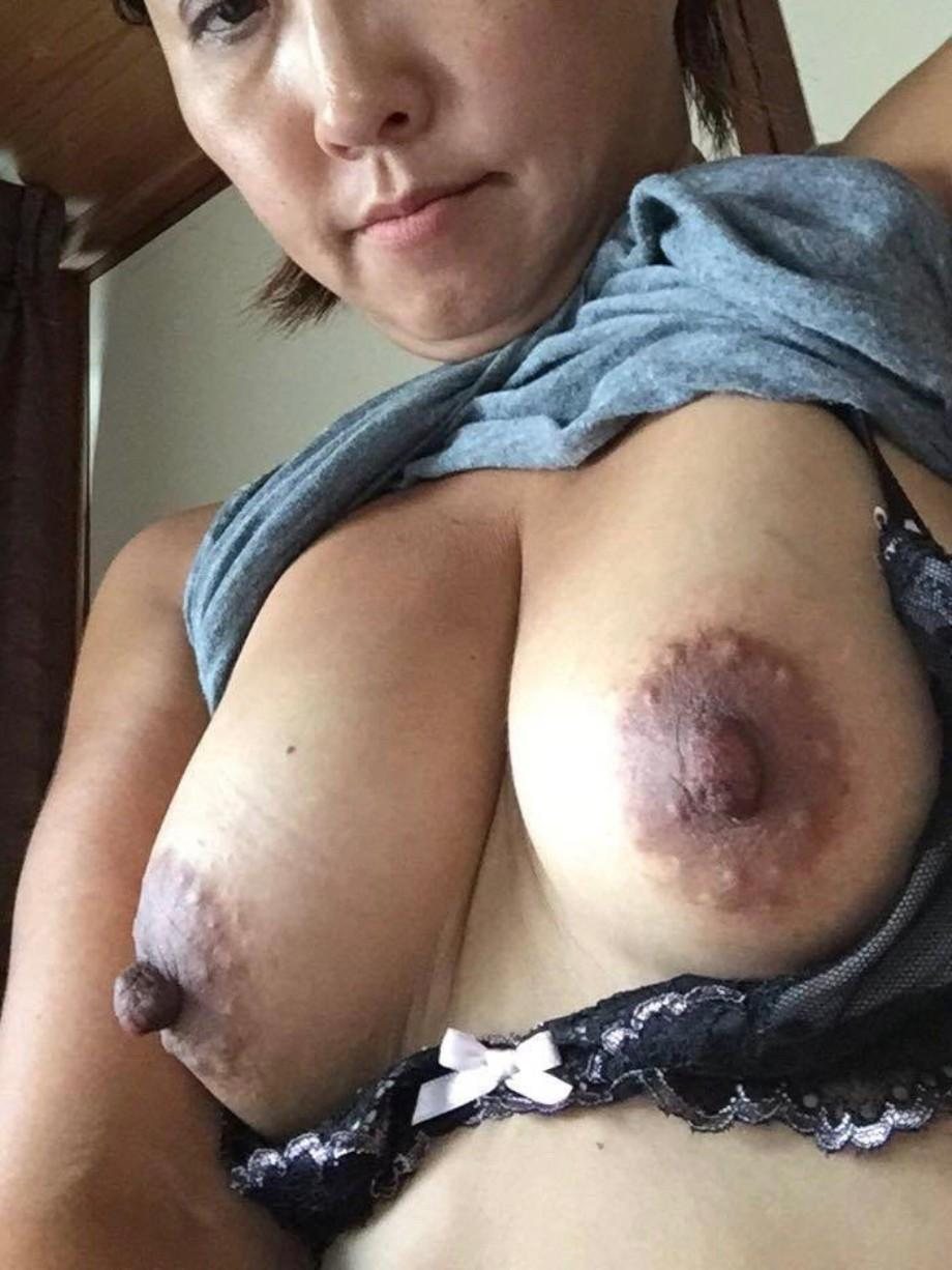 Older women with large nipples