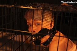Teen Bondage Submission Movie – Kat In A Cage.
