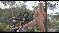 I Want To Ride My Bicycle – WowGirls small tits masturbation