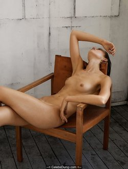 Cato van Ee topless and naked