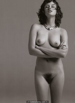 Trish Goff nude boobs and hairy pussy photos