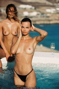 Moa Aberg and Victoria Germyn topless