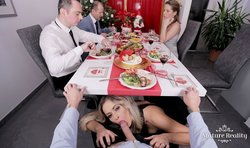 VR Porn- Cheating Wife at The Dinner Party
