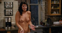 Kate Simses shows her nude tits in What's Your Number?