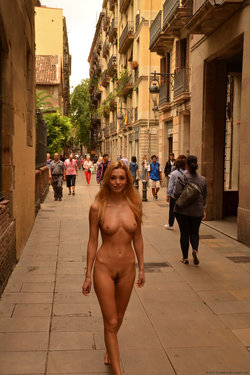 Nice day for a nude public walk