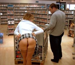 book store booty flash