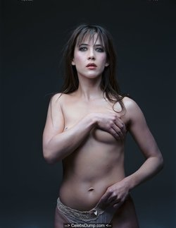 Sophie Marceau sexy and topless for photoshoot