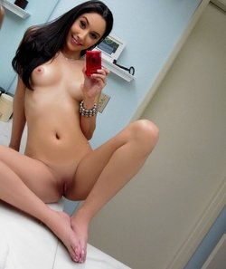 Selfie of perfect 24yo chick