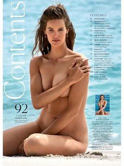 Robyn Lawley sexy and naked for Marie Claire magazine, Australia