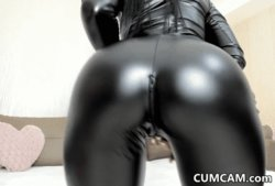 Big Ass In Hot Leather