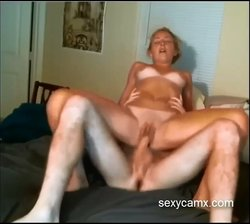 Teen blonde gets fucked and gets her mouth filled with cum