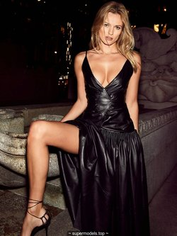 Edita Vilkeviciute sexy for The Edit by Net-A-Porter