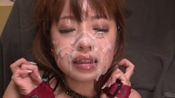 Engaging jap young lady Mao Saito gets great bukkake